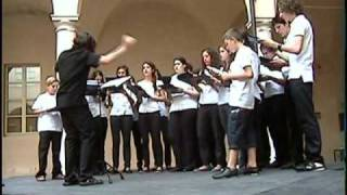 """""""Strike it up, tabor"""" - Corale Città di Parma Giovanile - 12.06.2010"""