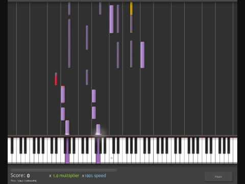 How To Play Run By Leona Lewis On Pianokeyboard Youtube