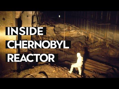 А man who was inside Chernobyl reactor.