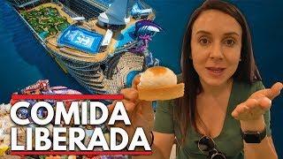 CRUZEIRO COM COMIDA LIBERADA - MOSTRAMOS TUDO