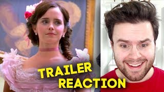 LITTLE WOMEN - Official Trailer REACTION