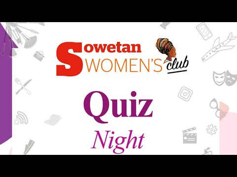 Online Quiz Night in South Africa - The Sowetan Women's Club