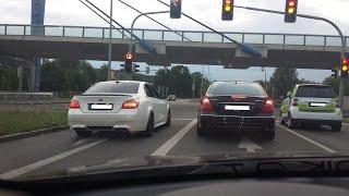 E55 AMG w211 vs /// e60 M5 v10