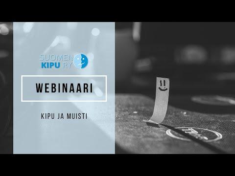 Webinaari: Kipu ja muisti - Suomenselän muisti ry