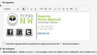 | Gmail İmza Oluşturma, Sosyal Medya Simgeler Ve Logo
