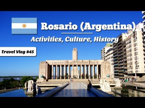 Things to do in Rosario, Argentina - Travel Video Guide (Episode 045)