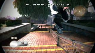 Skate 2 Playstation 3 vs Xbox 360 Comparison video HD