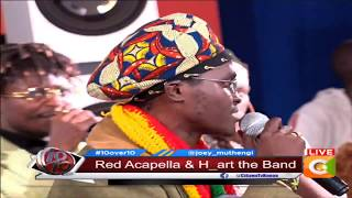 Red Acapella & H-Art new collabo live on stage #10Over10