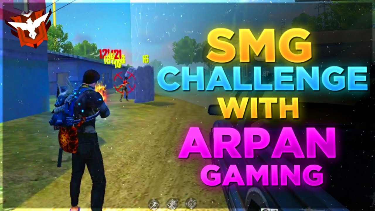 Only SMG Challenge 19 Kills  With Arpan Gaming || Desi Gamers