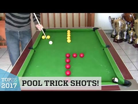 See these Outstanding Pool Trick Shots!  So Cool!