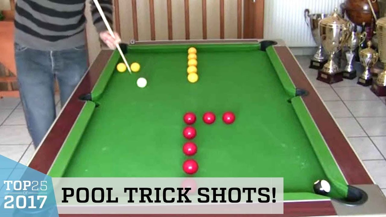 outstanding pool trick shots top 25 of 2017 youtube. Black Bedroom Furniture Sets. Home Design Ideas