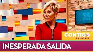 Los detalles del despido de Raquel Argandoña  - Contigo en La Mañana