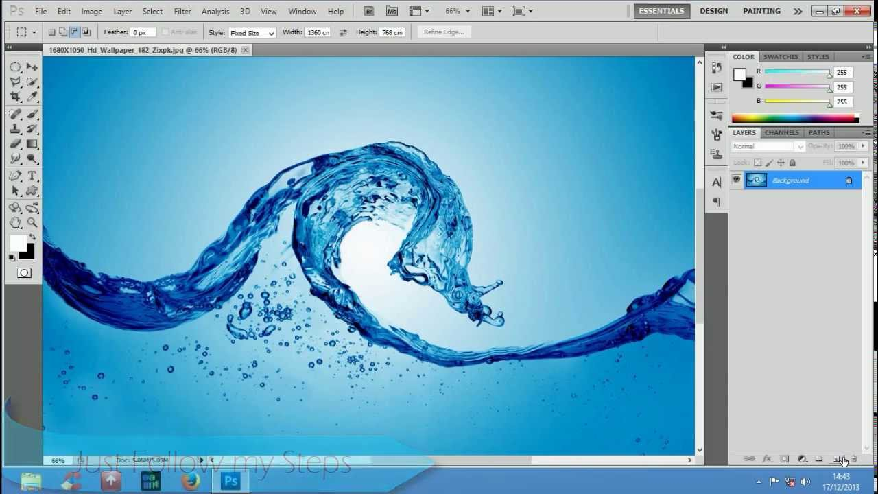 Make Water Drops In Photoshop [Youtube] - YouTube