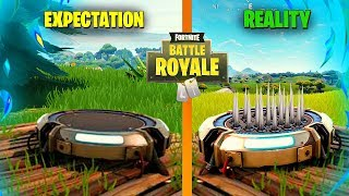 EXPECTATIONS vs REALITY - FUNNY TRAP! Fortnite Battle Royale Montage