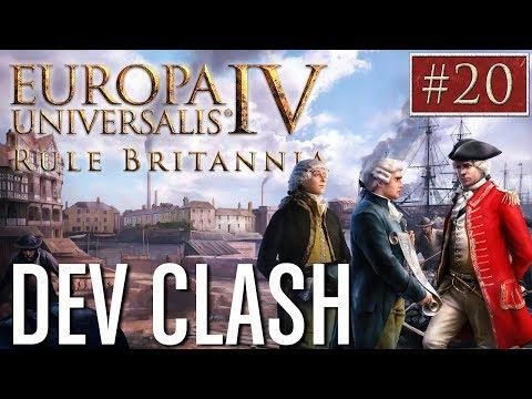 EU4  Paradox Dev Clash  Episode 20  Rule Britannia