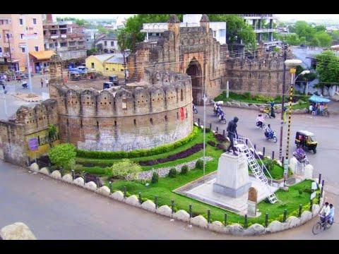 Beautification of Jatpura Gate at Chandrapur. चंद्रपूर ...
