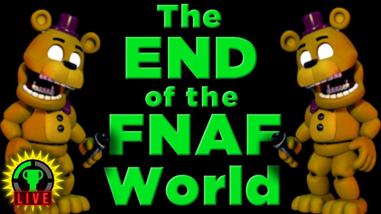 GTLive: FNAF World: ALL the ENDING(S)! - GTLive: FNAF World: ALL the ENDING(S)!