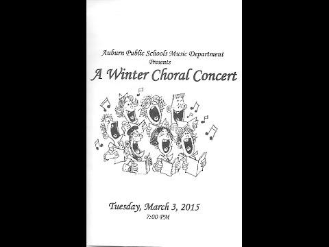 2015 Winter Chorus Concert