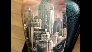 Joker 3d Tattoo By An Artist