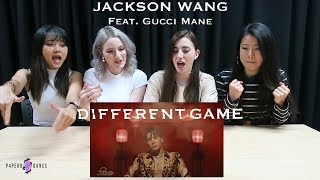 [MV REACTION] DIFFERENT GAME - JACKSON WANG ft. GUCCI MANE | P4pero Dance