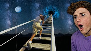 I Found A STAIRWAY To SPACE In GTA 5.. (GTA 5 Mods)