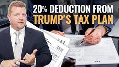 Getting The 20 Percent Deduction From Trump's Tax Plan - Tax Cut And Jobs Act Passed By Congress