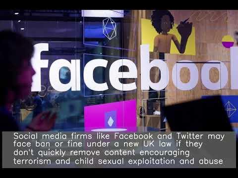 UK may fine, ban Facebook, Twitter over terrorist content