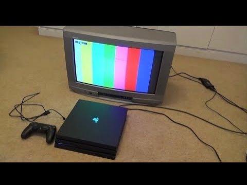 Como conectar una ps4 a una tv antigua 2018/19 100% actualizado CON NUEVO MÉTODO