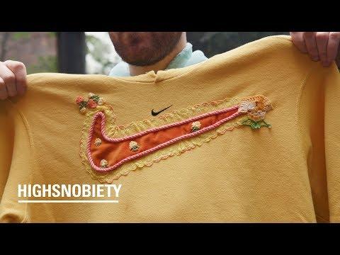 Meet the Bespoke DIY Brand That Customizes Vintage Nike | Bentgablenits