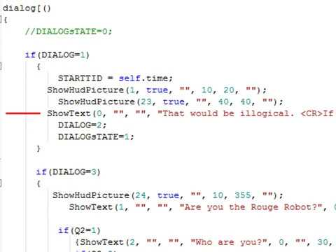 Making my own dialog-system in Reality Factory