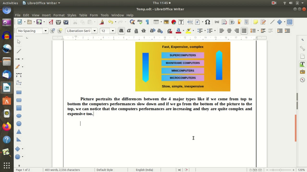 Pages Libreoffice