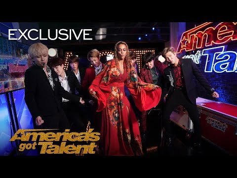 The Best Of BTS Boomerangs At AGT – America's Got Talent 2018