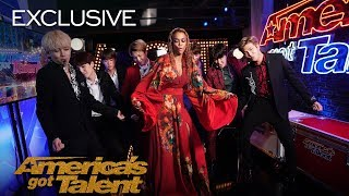 The Best Of BTS Boomerangs At AGT - America's Got Talent 2018