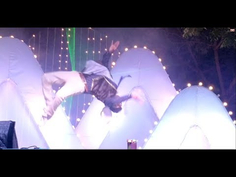 Mega Star & mixing mashup In Dasara Dance Program