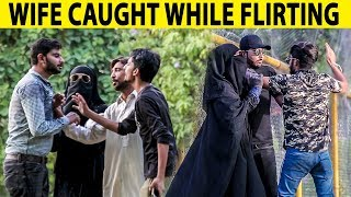 Wife Caught While Cheating in Public (GONE WRONG) -  Lahori PrankStar
