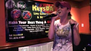 Amber Morgan   Leave The Pieces {Karaoke by KeysDAN}