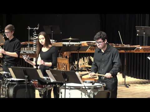Percussion Ensemble Performance: Burn