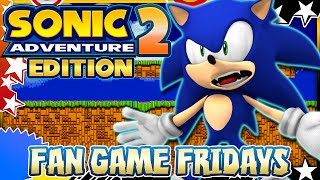 Fan Game Fridays - Sonic 2 Adventure Edition(Think we can reach 2000 Likes for the next installment of Fan Game Fridays? That'd be awesome :D Welcome to my series, Fan Game Fridays as in this vid we ..., 2016-01-08T21:18:27.000Z)