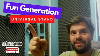 Fun Generation Universal Stand | Keyboard stand review | Unboxing and review.
