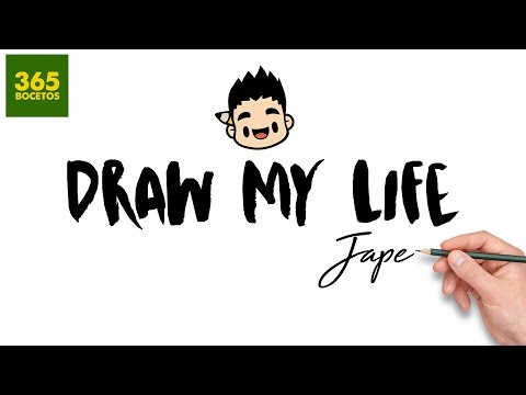 DRAW MY LIFE  | by 365bocetos - ESPECIAL 1 MILLON DE SUSCRIPTORES