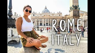 THINGS TO DO AS A TOURIST IN ROME, ITALY