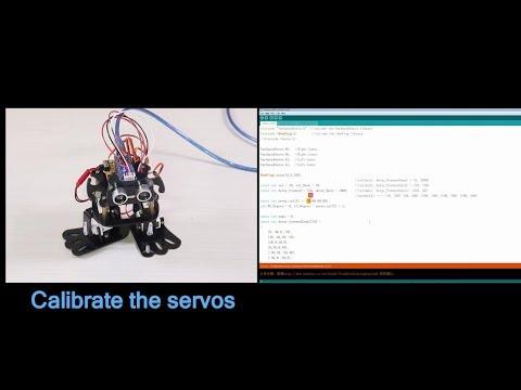 SunFounder Arduino Robotics Kit 4-DOF Dancing Sloth Programmable DIY Robot Kit (Assembly Tutorial )