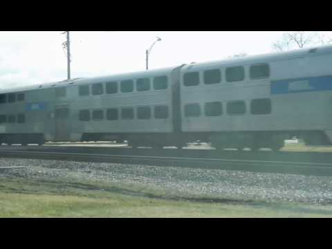 Metra Train Glen ellyn