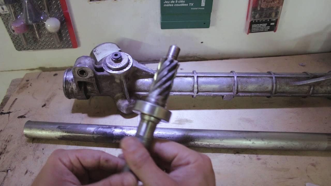 Фотоотчет по ремонту рулевой рейки Фольксваген Поло седан 23