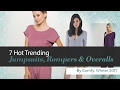 7 Hot Trending Jumpsuits, Rompers & Overalls By Comfy, Winter 2017