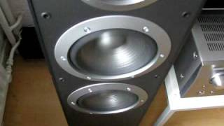 Denon AVR 1908 - JBL ES80 - Bass,I love you