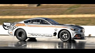PROFAB DANDY ENGINES TWIN TURBO RADIAL MUSTANG 1ST TEST HITS