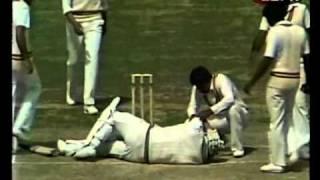 Wasim Akram 10 wickets vs New Zealand 3rd test 1984/85