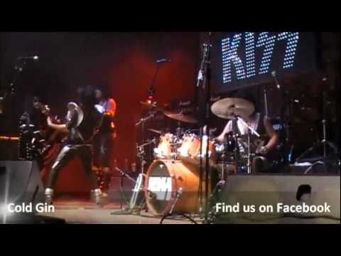 All kiss midget cover band entertaining question