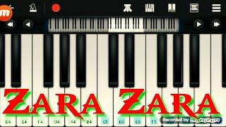 Zara bahekta hai piano mahekta instrumental tune rthdm cover full instrumental...